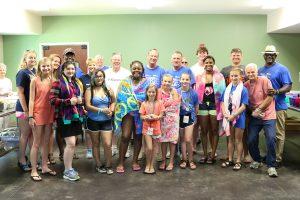 smile a mile summer camp volunteer group