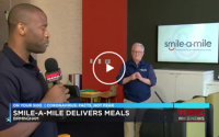 Smile-A-Mile Delivers Meals to Children's of Alabama